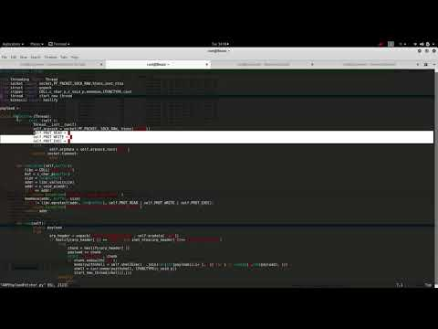 DATA Ex-Filtration - NIDS Bypass - Transfering shellcode using ARP packets (Python Raw sockets demo)