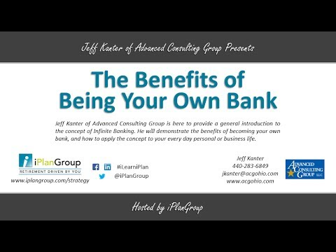 The Benefits of Being Your Own Bank