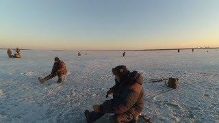 Останній лід. Рибалка в селі Новий Мелькен.