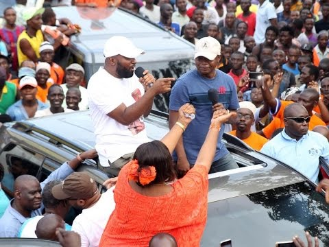 Flamboyant Governor Joho arrives in Mombasa from his US tour