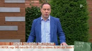 Megrendülten nyilatkozott Aigner Szilárd lánya apja haláláról - tv2.hu/mokka
