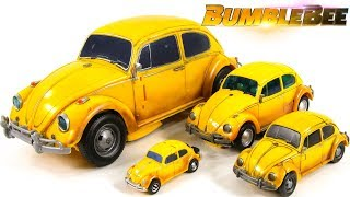 Transformers 2018 Movie Bumblebee Legion Deluxe Masterpiece Power Charge Bumblebee Car Robots Toys