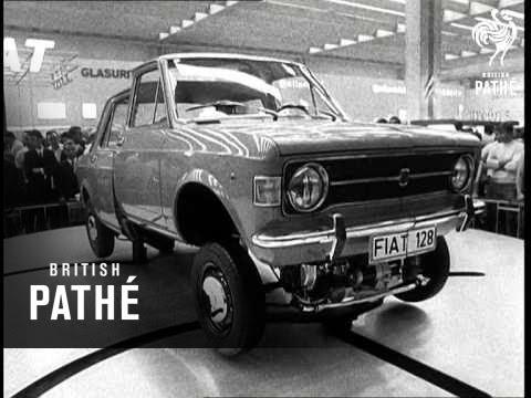 The Frankfurt Motor Show (1969)