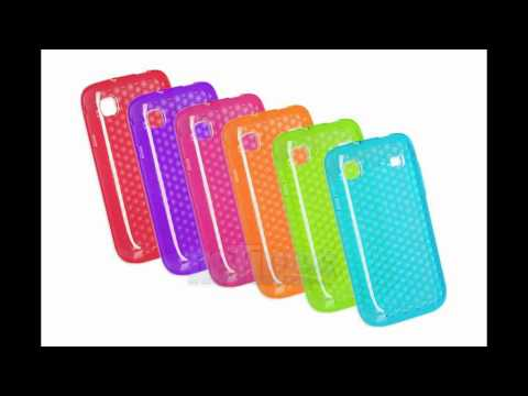 Resin Soft Jelly Case For Samsung i9000 Galaxy S - Hexagon