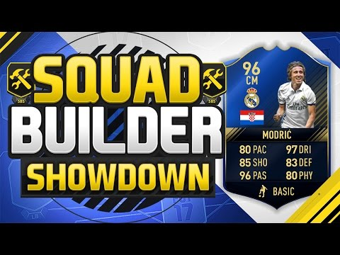 FIFA 17 SQUAD BUILDER SHOWDOWN!!! TEAM OF THE YEAR MODRIC!!! The Best Midfielder On Fifa 17!?!