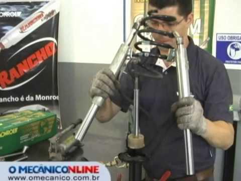 Troca dos amortecedores do Ford Fiesta - cap. 2