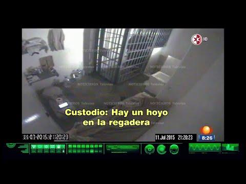 AUDIO y VIDEO de la Fuga del Chapo Original | (Primero Noticias) 2015 [HD]