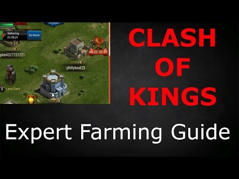 EXPERT FARMING GUIDE (CLASH OF KINGS TIPS AND TRICKS REMASTERED)