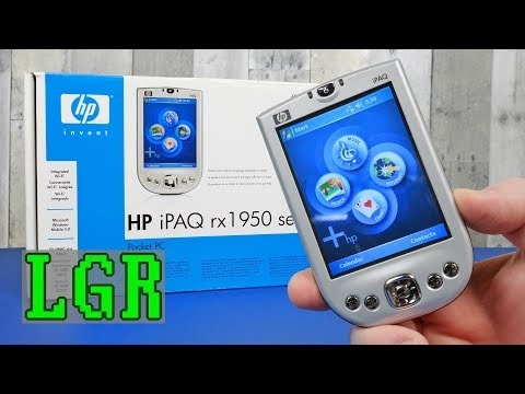 HP iPAQ RX1955 - The 2005 Windows Pocket PC Experience