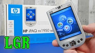 HP iPAQ RX1955 - The 2005 Windows Pocket PC Experience