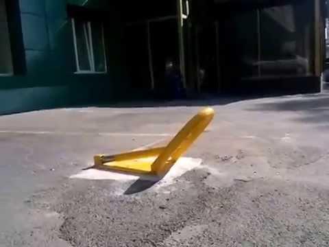 Установить автоматический парковочный барьер Came Unipark для ограждения парковки