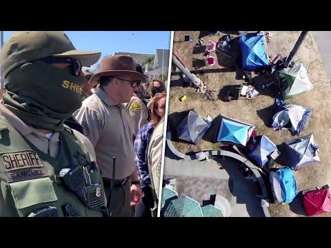 California CHAOS: LA Sheriff & Local Leaders CLASH Over Homeless Crisis