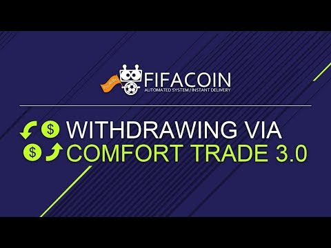 The tutorial for withdrawing via Comfort Trade 3.0 on FIFACOIN