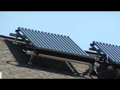 Solar Thermal Heating and Air Conditioning System