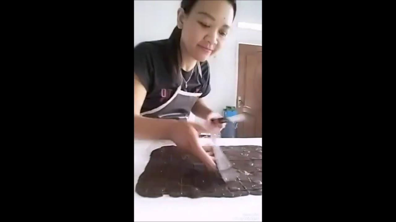 Cara Buat Coklat Pagar Tanpa Cetakan Youtube Love