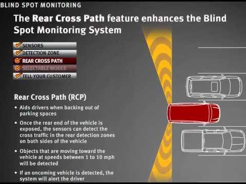 Chrysler Blind Spot Monitor System Wmv Youtube