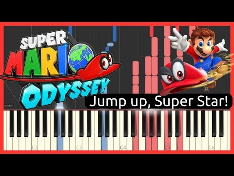 Super Mario Odyssey OST - Jump up, Super Star! // Piano