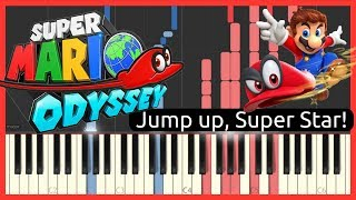 Super Mario Odyssey - Jump up, Super Star! // Piano Cover