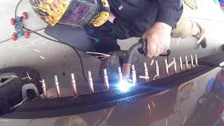 How to Repair a Rust Holes and Weld Body Panels