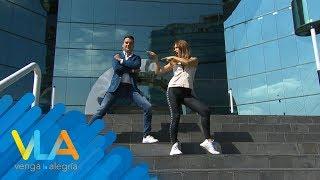 ¡Hacemos el Shuffle Stair Challenge en vivo! | Venga la Alegría