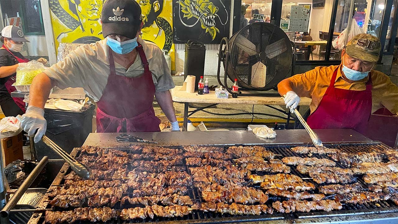 Seattle CHINATOWN NIGHT MARKET & Dallas GOPCHANG Korean BBQ