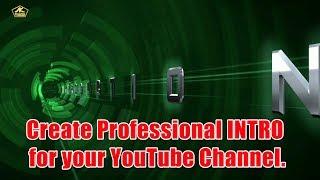 YouTube Kanalı için Profesyonel İNTRO oluşturun. /AK Üretim