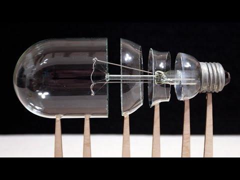 Как разрезать лампочку
