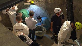 Caso Orlandi, le immagini del ritrovamento di migliaia di ossa nel Cimitero Teutonico del Vaticano