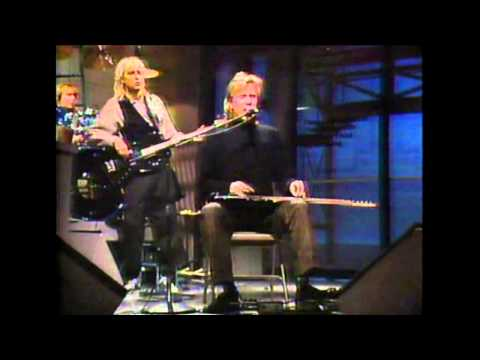 Jeff Healey - 'Confidence Man' live on Letterman 1988