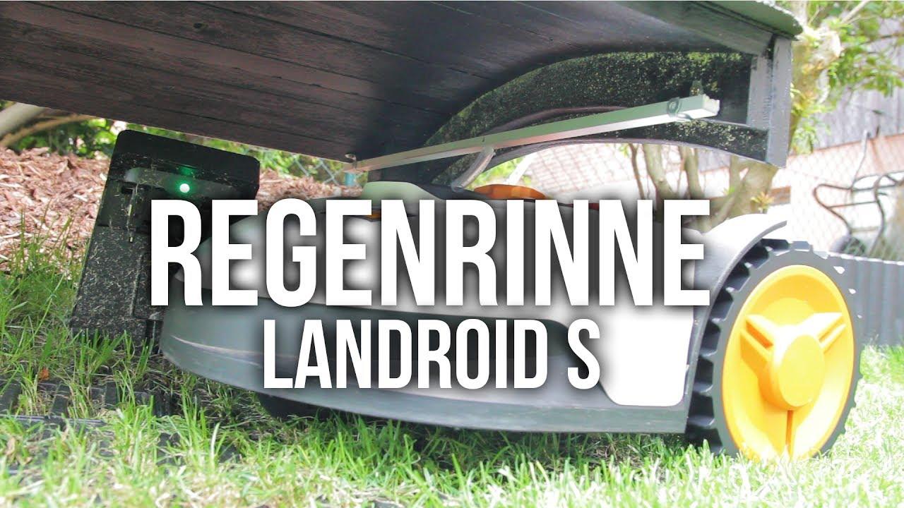 diy worx landroid s regenrinne f r caport 2017 youtube. Black Bedroom Furniture Sets. Home Design Ideas