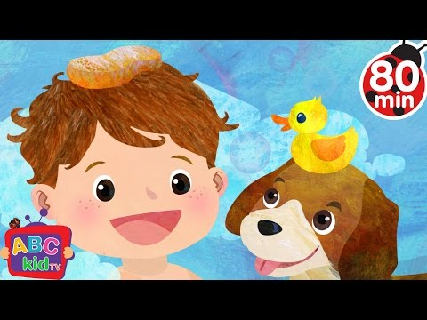Bath Song (2D) | +More Nursery Rhymes & Kids Songs - Cocomelon (ABCkidTV)