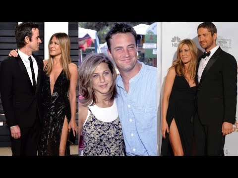 Top 10 Boyfriend's Of Jennifer Aniston