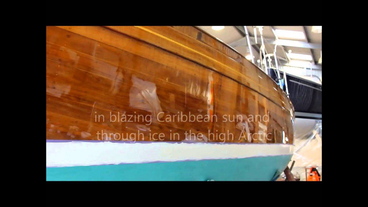 Epifanes varnishing video by flints marine