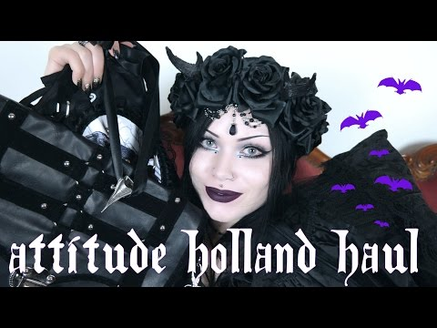 Attitude Holland Haul || Heaps of Gothy goodness!