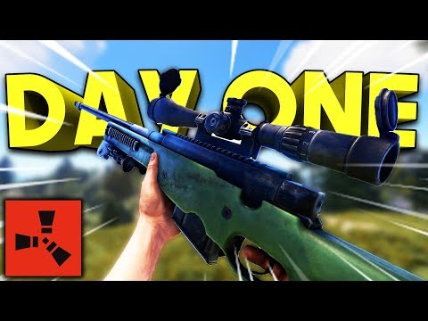 L96 SNIPER ON DAY ONE! - Rust SOLO Series #1 thumbnail