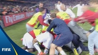 Last-gasp Donovan saves USA on memorable night