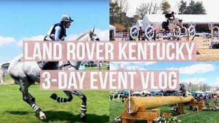 Land Rover KY 3-Day Event Vlog! | Equestrian Prep