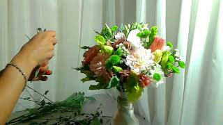 Букет невесты в стиле Рустик.  Bouquet of the bride in the style of Rustik