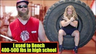 Alan Thrall Calls Out JUJIMUFU / 1,000 lbs Tire Flip Challenge