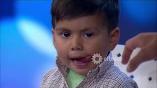 El niño genio volvió por la revancha: tiene sólo 3 años pero sabe más que uno de 8