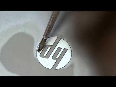 Как убрать царапины с крышки ноутбука в домашних условиях