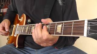 Krokus - Rattlesnake Rumble - with Solo - cover by RhythmGuitarX