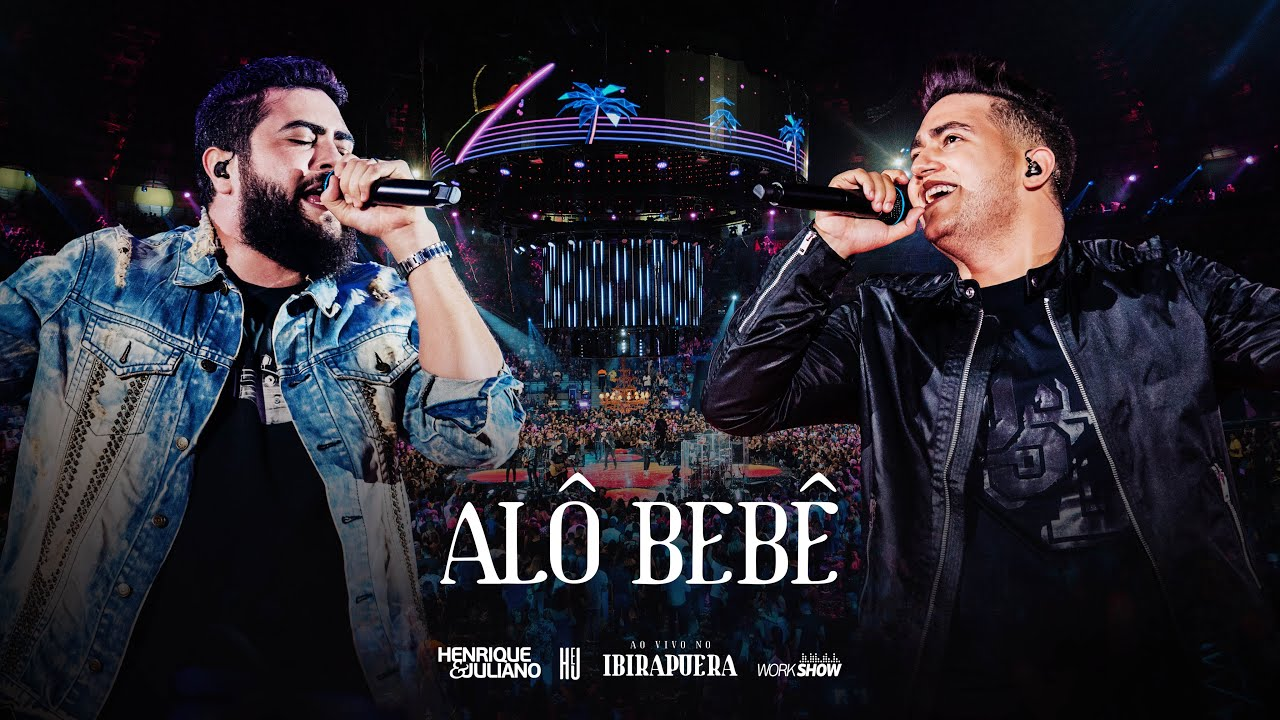 "Thumbnail do vídeo ""Henrique e Juliano - ALÔ BEBÊ - DVD Ao Vivo No Ibirapuera"""