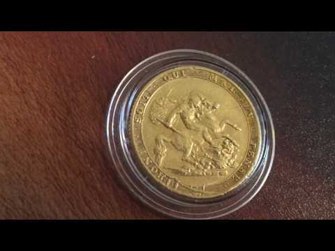 1820 George ||| Full Gold Sovereign closed 2