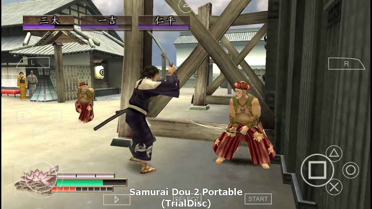 Samurai Dou 2 Portable (Game PPSSPP / PSP / Android) - YouTube