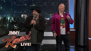 Download Jeff Ross & David Attell Roast Kimmel Audience Mp3 and Videos