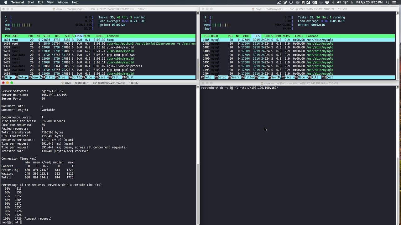 MySQL 5.7 vs MySQL 8 Benchmark