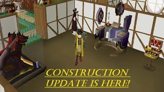 OSRS - Construction Update POH Showcase [ New Alter, Rejuvenation Pool, and jewelry Box]