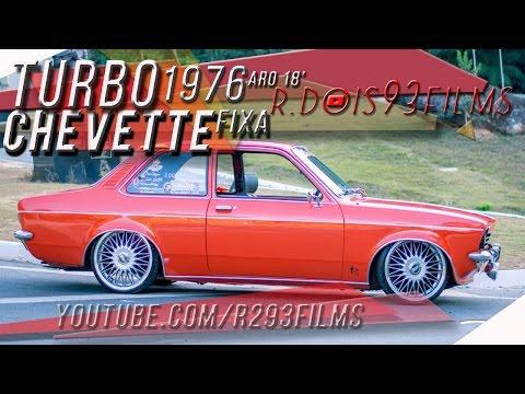 Chevette 1976 Turbo Rebaixado na Fixa   RDois93Films