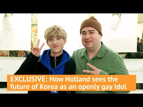 EXCLUSIVE: How Holland sees the future of Korea as an openly gay Idol
